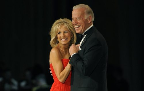 Vice President Joe Biden and his wife Jill dance during the Commander in Chief's Ball at the National Building Museum in Washington January 20 2009 .