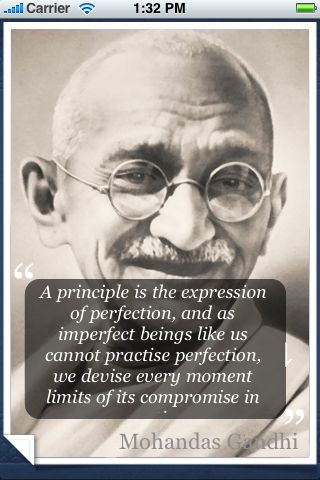 Mohanddas Gandhi Quotes: IPhone App